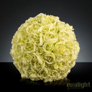 Aranjament floral elegant in forma de sfera, MIXROSE FORTUNE 55cm