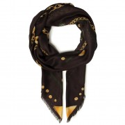 Eșarfă GUESS - Not Coordinated Scarves AW8434 MOD03 BLA