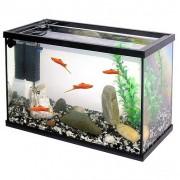 PACIFIC-40 akvárium 20l 40x20x25cm takaró üveg+szűrő+növény+kavics