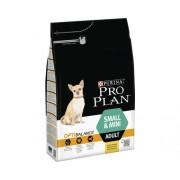 Hrana uscata pentru caini Pro Plan Small & Mini Adult cu pui, 3 kg