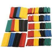 AST Works Hot 328Pcs 2:1 Car Electrical Cable Heat Shrink Tube Tubing Wrap Wire Sleeve