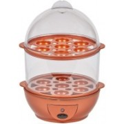 Fiiasa 7 to 14 Eggs Capacity Automatic Shut Off Copper Chef Egg Boiler,Steamer,Fryer ,Hard Boiled,Poached,Scrambled Eggs,Omelets (See IMAGES for Details ) Egg Cooker(14 Eggs)