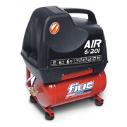 Compresor aer FIAC PROFESSIONAL AIR 6/201, Debit aer 168l/min, 8 bar, Capacitate rezervor 6 litri