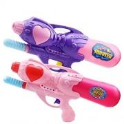 Lanlan 33cm Super Soaker Blaster for kids Squirt Games, Cool Summer High Pressure Pump Water Gun Toys, Children Outdoor Water Pistol Toys
