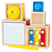 Hape Stacking Music Set Toy Percussion Instrument