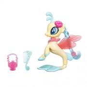 My Little Pony The Movie Glitter and Style Sea Pony Princess Sky Star, Beige