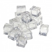 Artificial Ice Cubic Cuburi Gheata Artificiala 2.5cm (15buc/set)