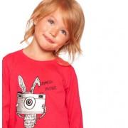 T-shirt z długim rękawem dla dziewczynki 3-8 lat