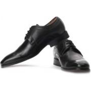 Clarks Dexie Plain Genuine Leather Lace Up Shoes For Men(Black)