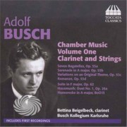 Video Delta Busch,F. - Chamber Music Vol. 1-Clarinet & Strings - CD