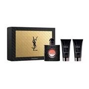 Cofrret black opium eau parfum 50ml+loção corporal 50ml+bolsa - Yves Saint Laurent