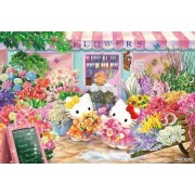 Hello Kitty | Puzzle | Flower Shop 1000 Pcs 31-377 ( Japanese Import ) by Beverly