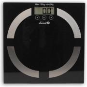 Cantar electronic de persoane Lucznik BS11B, 150 kg, Negru