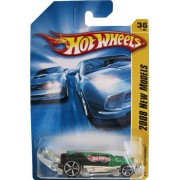Hot Wheels 2008 #6 New Models Carbonator Green Soda Bottle Style Racer with Bottle Opener 1:64 Scale Collectible...