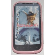 Силиконов гръб ТПУ за HTC Amaze 4G G22 Розов