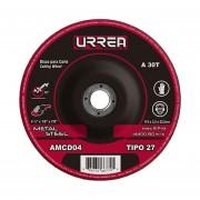 """Disco T/27 Metal4-1/2X1/8""""Gral AMCD04 Urrea"""