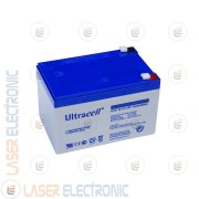 Batteria al GEL Professionale UCG12-12 Ultracell UK 12V DC 12.0AH 12AH