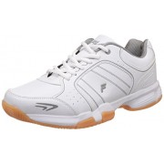 Fila Men's Set 6 Wht/Gry/Gum Tennis Shoes - 10 UK/India (44 EU)