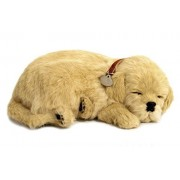 Perfect Petzzz Huggable Breathing Puppy Dog Pet Bed Golden Retriever