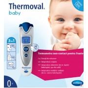Thermoval baby pentru bebelusi - termometru cu infrarosu non-contact pentru masurarea temperaturii pe frunte / lichide / mediu ambiant