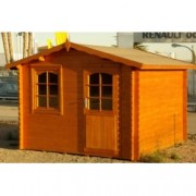 Cabaña de madera Dalia 300x300 cm para Jardín