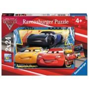 PUZZLE CARS, 2X24 PIESE - RAVENSBURGER (RVSPC07810)