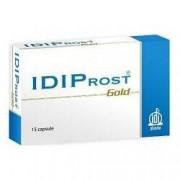 Idipharma Integratore alimentare idiprost gold per la funzionalità prostatica 15 capsule