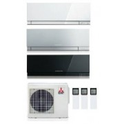 Mitsubishi Electric Kit Trial Kirigamine Zen Mxz-3e54va2 + 2 X Msz-Ef18ve2-W/s/b + Msz-Ef35ve2-W Inv. 5+5+12