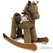 Little Bird Told Me LB3020 Chester & Fred Rocking Horse Ride On, Houndstooth