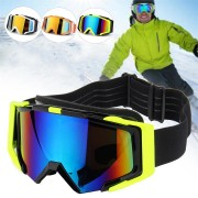 TYX76 Outdoor Skiing Skating Goggles Snowmobile Glasses Windproof Anti-Fog UV Protection For Men Women Snow Sports Goggles