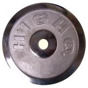 Диск за щанга 15 кг. Ø25 мм. никел