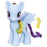 My Little Pony Friendship is Magic Rainbow Dash Figure (8-inch) (Multi Color)