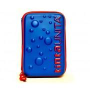 Astuccio One Time 1 Zip Tintaunita Blu