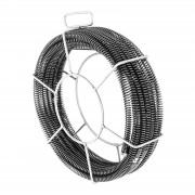 Plumbing Snake Cables - Set of 5 x 2,3 m - Ø 16 mm & 1 x 2,4 m - Ø 15 mm