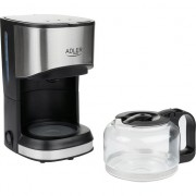 Filtru de Cafea Adler, Putere 550W, Capacitate 0.7L, Supapa Antipicurare si Protectie la Supraincalzire