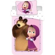 Mása és a medve lufis ovis ágynemű