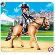 Tysk häst och grön/beige box (Playmobil 5111)