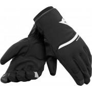 Dainese Plaza 2 D-Dry Gloves Black White 3XL