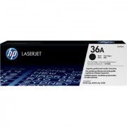 HP Original CB436A 36A Black Toner Cartridge