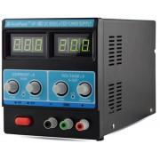 HOLDPEAK 305D Stabilizált labor tápegység egycsatornás 0-30VDC 0-5A digitális kijelzés.