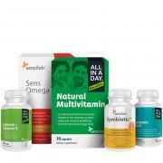 Sensilab Pacchetto di vitamine per tutti i giorni e minerali essenziali