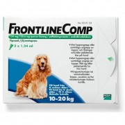 Frontline Comp, spot-on, lösning 134 mg/120,6 mg 3 x 1,34 ml