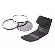 Canon Powershot SX730 HS High Grade Multi-Coated & Threaded 3 Piece Lens Filter Kit (Includes Filter/Lens Adapter)