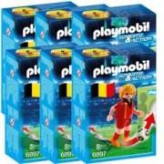 Playmobil Sports & Action : joueur de foot - Belgique - x6