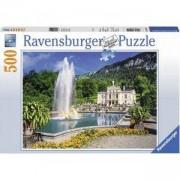 Пъзел Ravensburger 500 елемента, Замъкът Линдерхоф, 701073