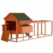 PawHut - Coelheira de exterior grande de madeira - PAWHUT