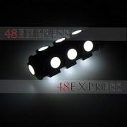 AST Works New 13LED 12V T10 SMD 5050 Auto Car Wedge Side Lamp Turn Tail Backup White Light
