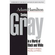 Seeing Gray in a World of Black and White: Thoughts on Religion, Morality, and Politics, Paperback/Adam Hamilton
