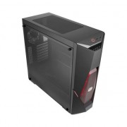 Carcasa Cooler Master MasterBox K500L with 2 x RED LED fan and RED striping