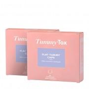 TummyTox Flat Tummy Caps 1+1 GRATIS Pastillas para quitar el hambre Con Garcinia cambogia Programa para 2 meses 2x 60 cápsulas